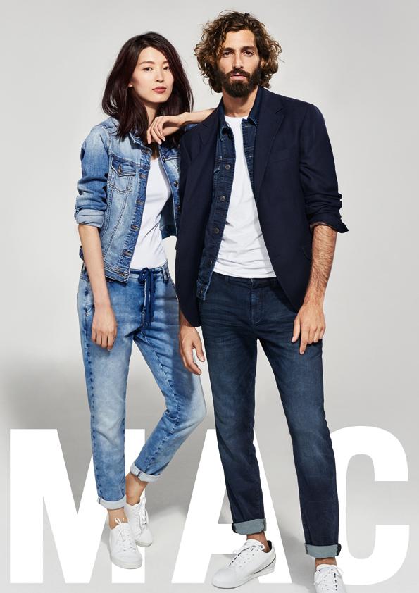 Dámské a pánské kalhoty MAC